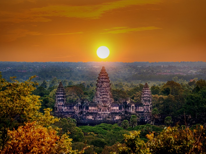 Cambodia - Countries with no visa requirements