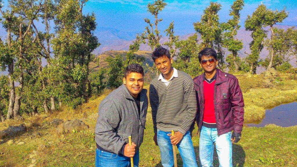 We 3 (Ashish, me and Vini)