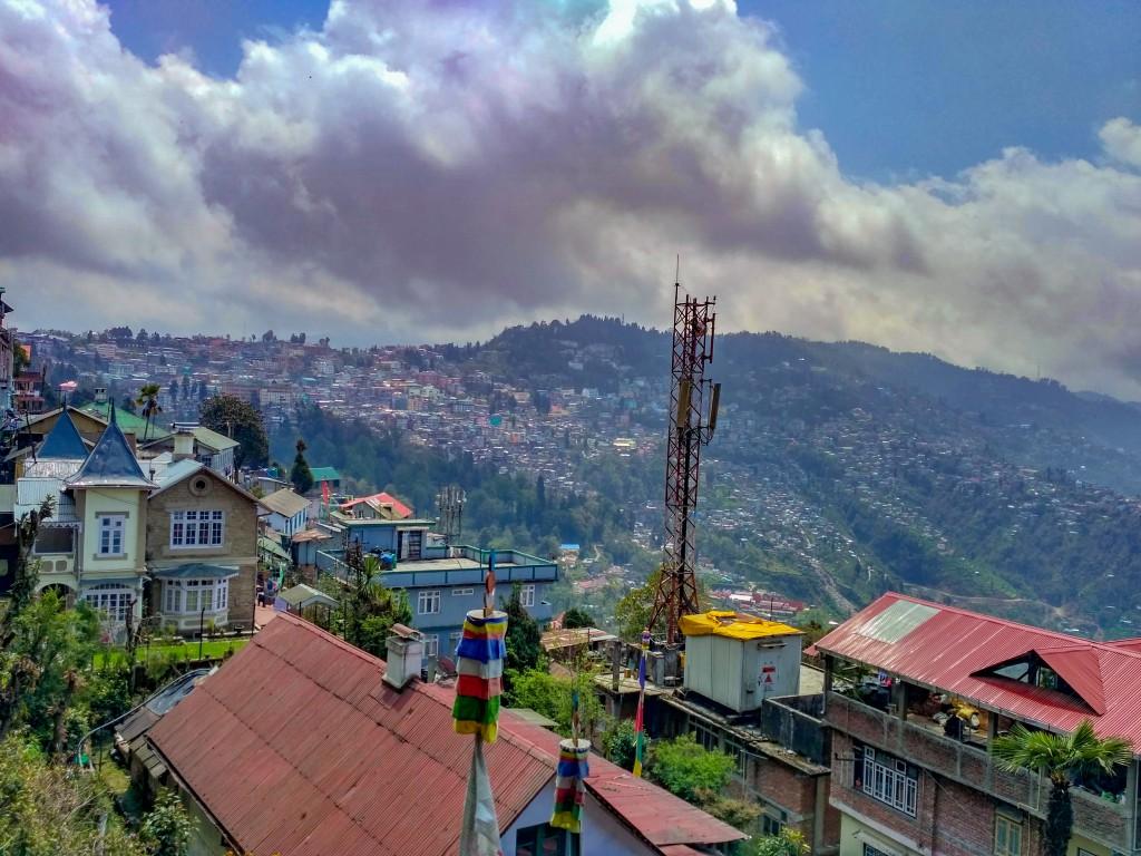 View of Darjeeling from Nightingale Park
