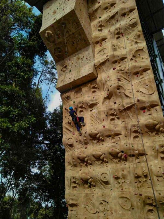 Sports Climbing at HMI Darjeeling