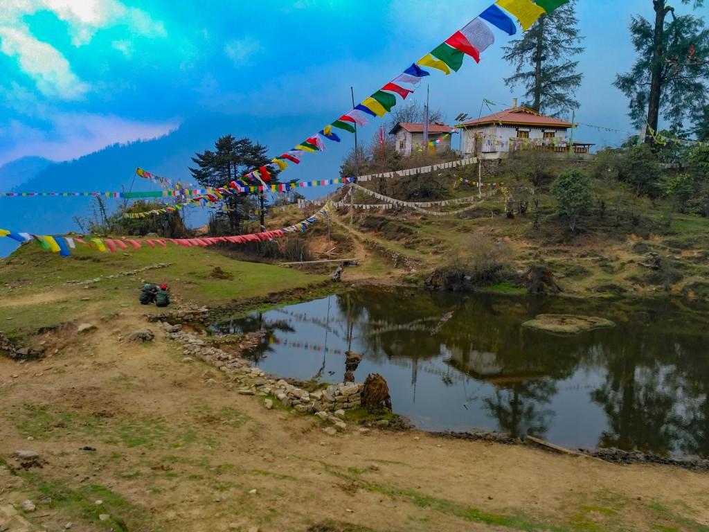 A small pond at Tshoka - Trek to HMI Base Camp