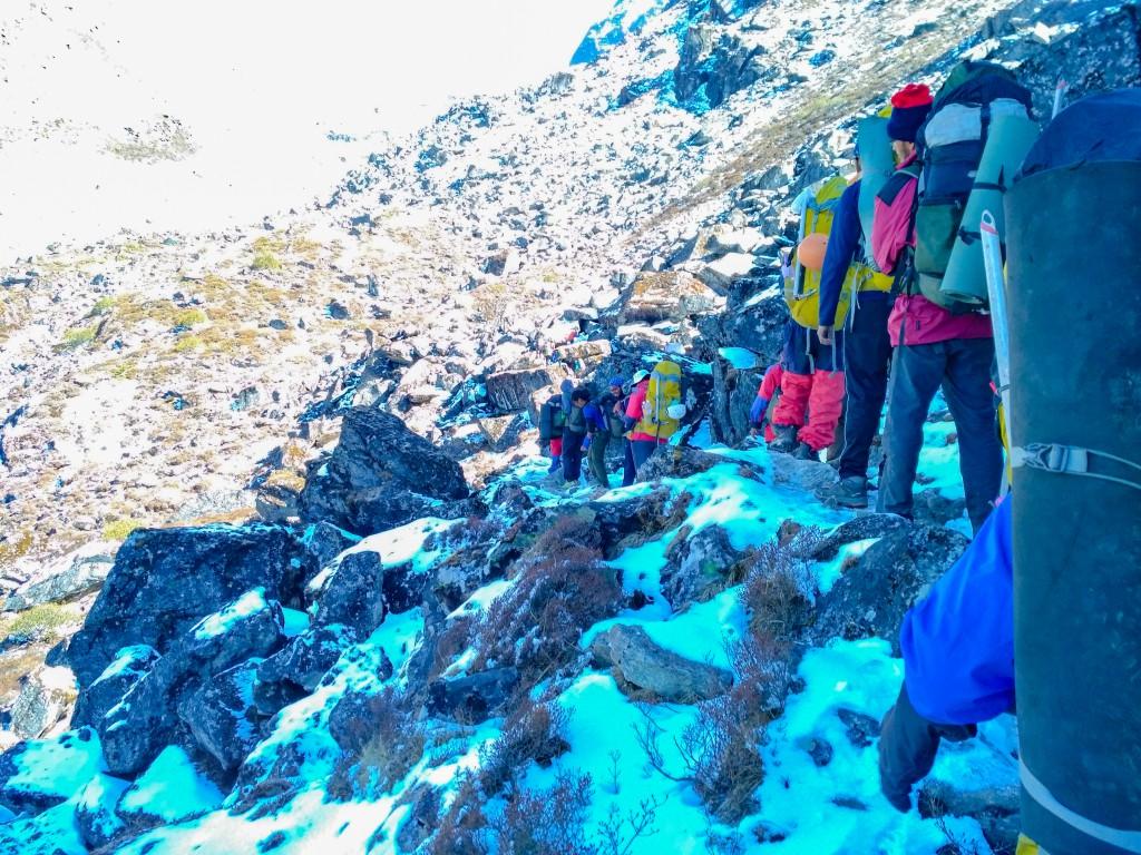On the way to Dzongri La