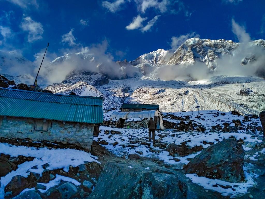 Chaurikhang Base Camp - Basic Mountaineering Course at HMI