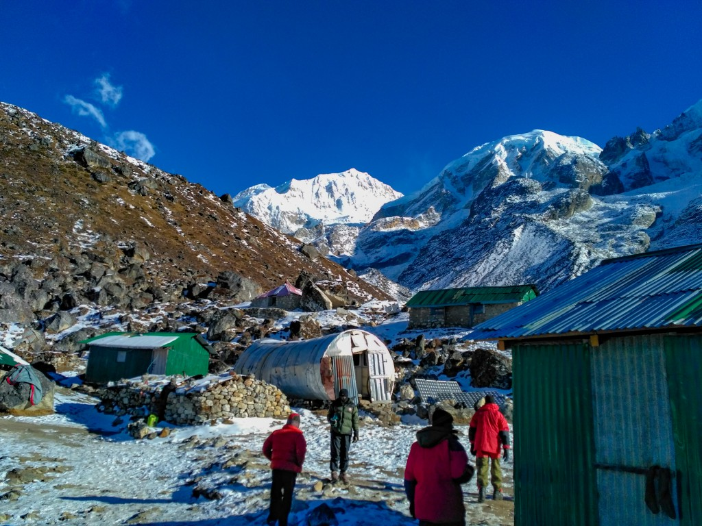 HMI Base camp - Basic Mountaineering Course at HMI