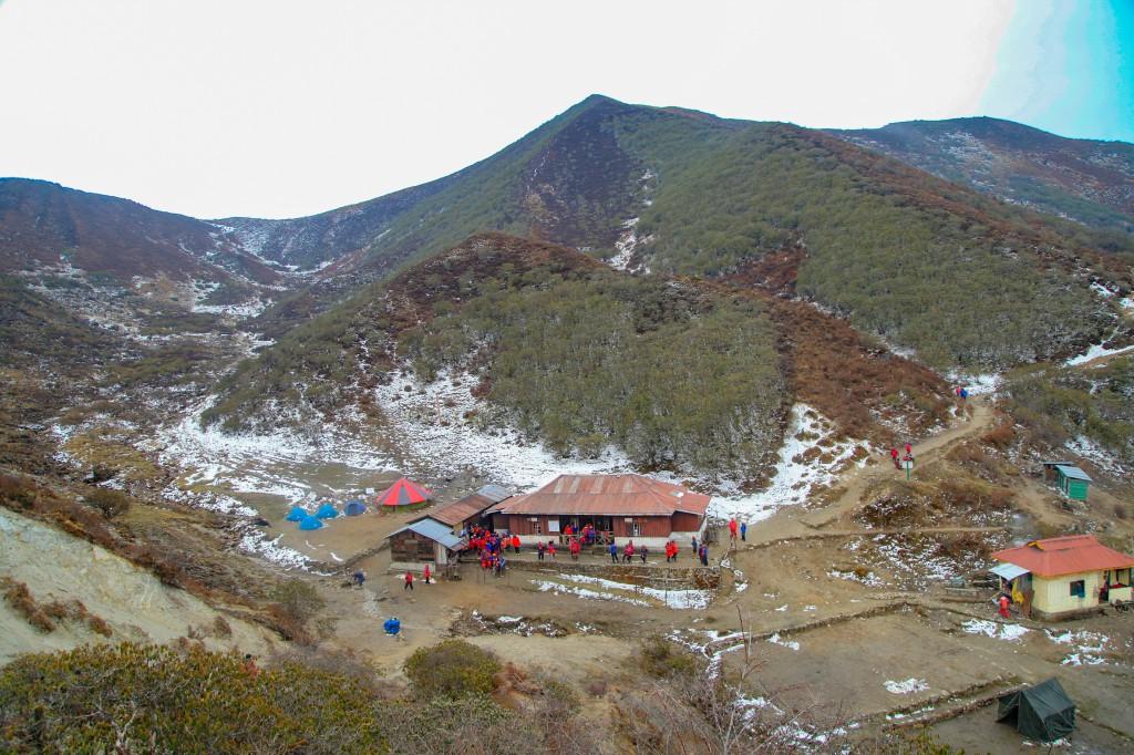 Dzongri Campsite