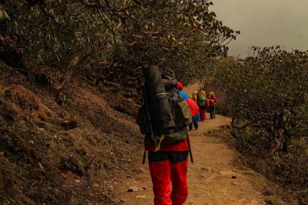 Approaching towards Dzongri