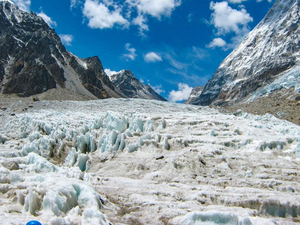 Rathong Glacier