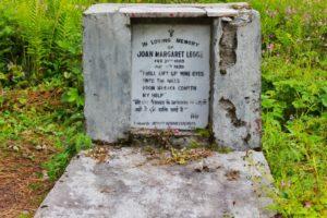 Grave of John Margaret Legge at Valley of Flowers