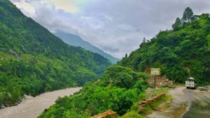 On the way to Govindghat
