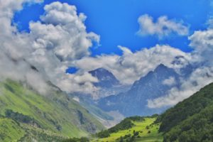 A view of Valley of Flowers