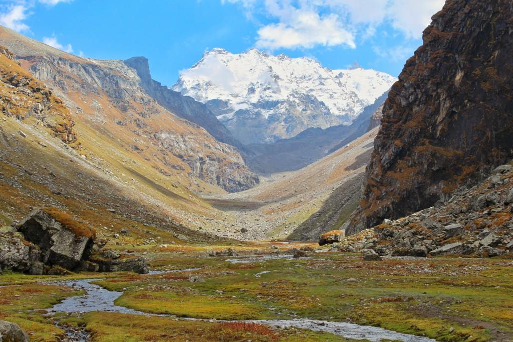 a view of hampta pass trek