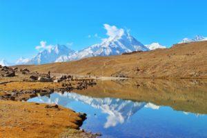 Mighty Chandrabhaga CB-12 Peak seen from Chandratal - Hampta Pass Trek
