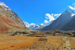 Peaks visible from Sheagoru Campsite - Hampta Pass Trek