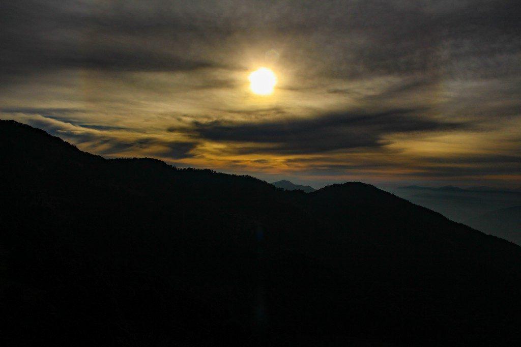Sunset from Chopta - Deoriatal Chandrashila Trek