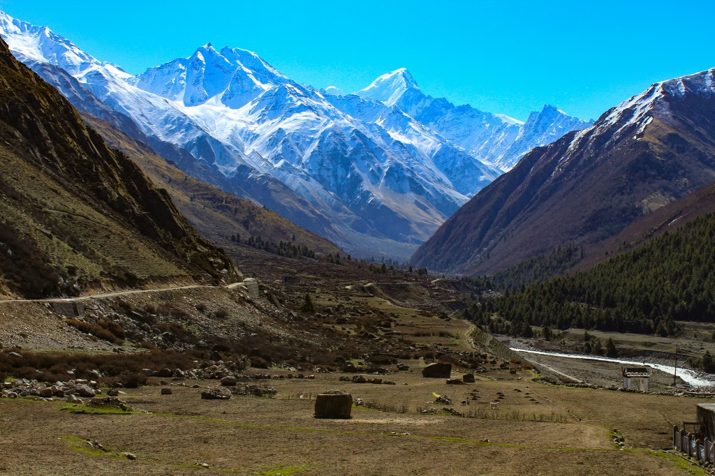 View of Baspa Valley - Chitkul Road Trip