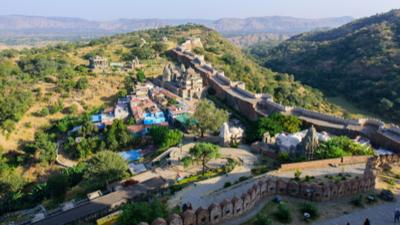 A view of Kumbhalgarh fort Rajasthan