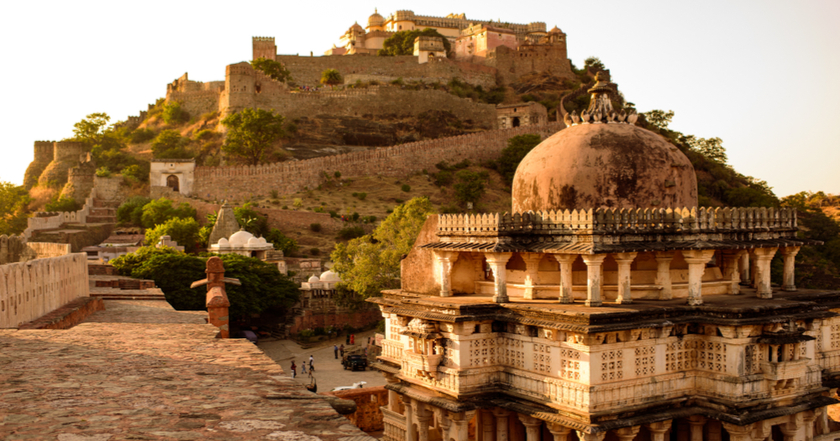 A View of Kumbhalgarh Fort
