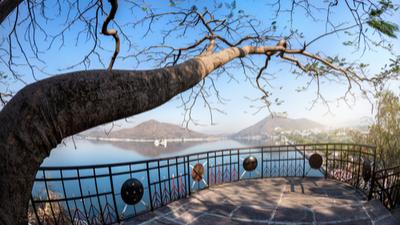 Fateh Sagar Lake in Udaipur - Rajasthan