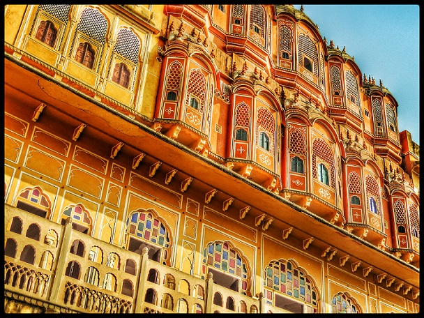 Hawa Mahal in Jaipur, Rajasthan