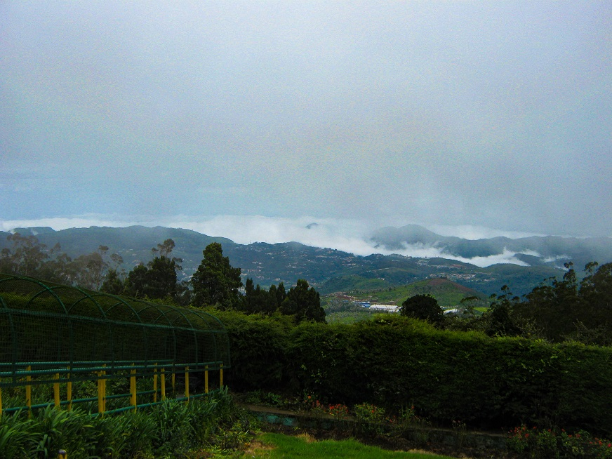 View from Doddabetta Peak - Things to do in Ooty
