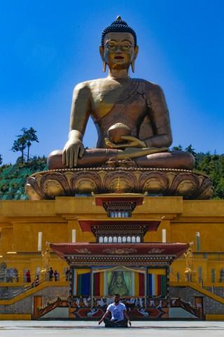 Buddha Point in Thimphu - Trip to Bhutan