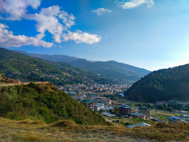 Thimphu city view - Trip to Bhutan