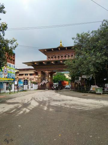Bhutan Gate at Jaigaon - Trip to Bhutan