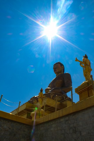 Buddha Point - Trip to Bhutan