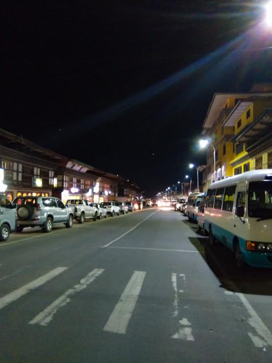 Streets of Paro - Trip to Bhutan