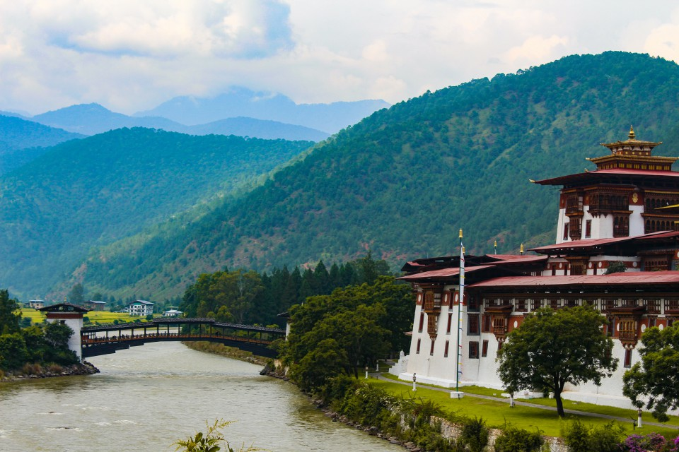 Beautiful Punakha Dzong - Trip to Bhutan