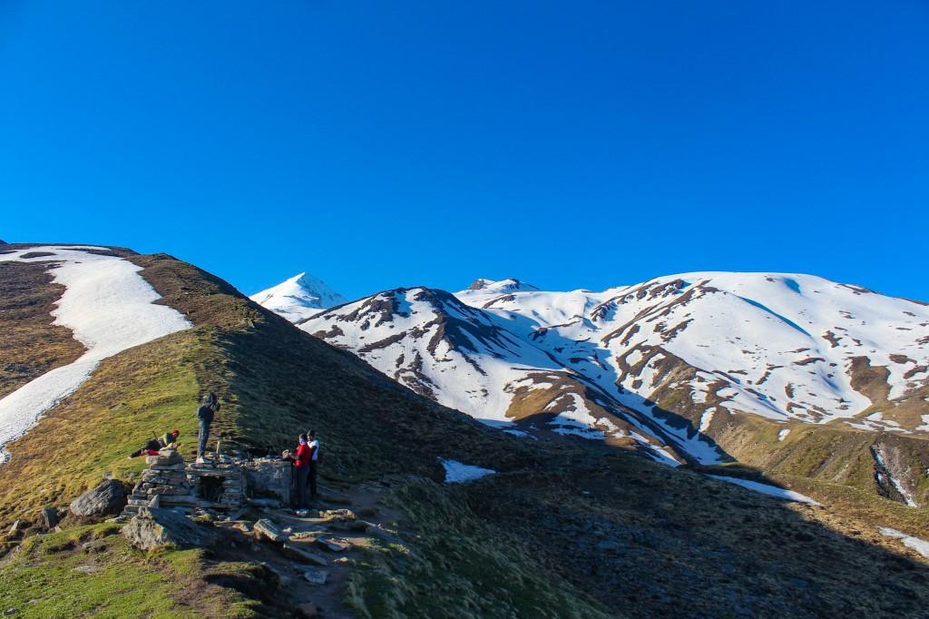 View of the Summit from Chitrakantha - Pangarchulla Peak Trek