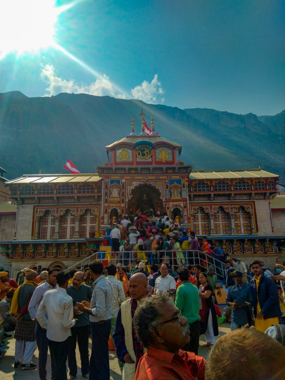 Badrinath Temple - Vasudhara Falls Trek
