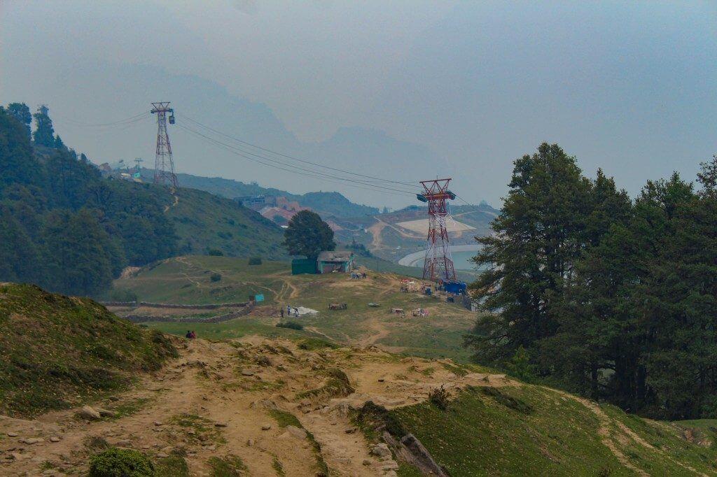 Reaching Auli - Pangarchulla Peak