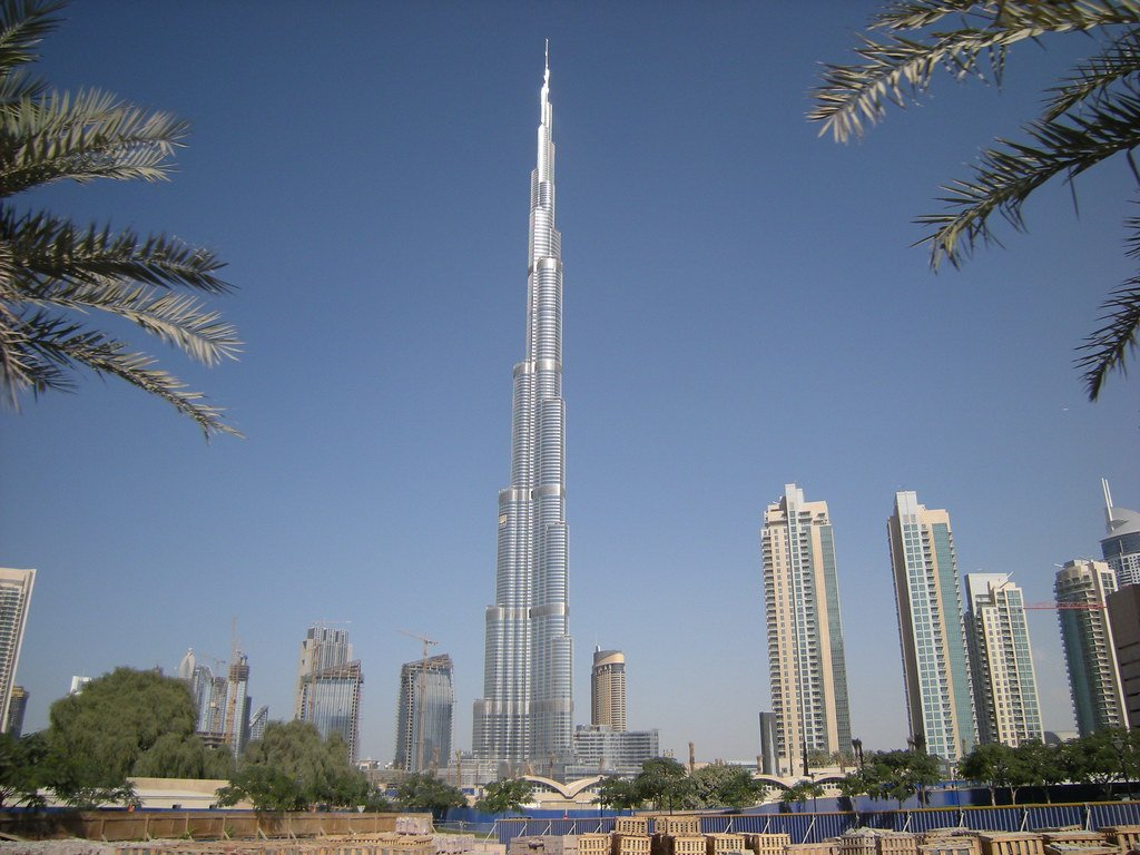 Burj Khalifa Dubai - Best places to visit in Dubai