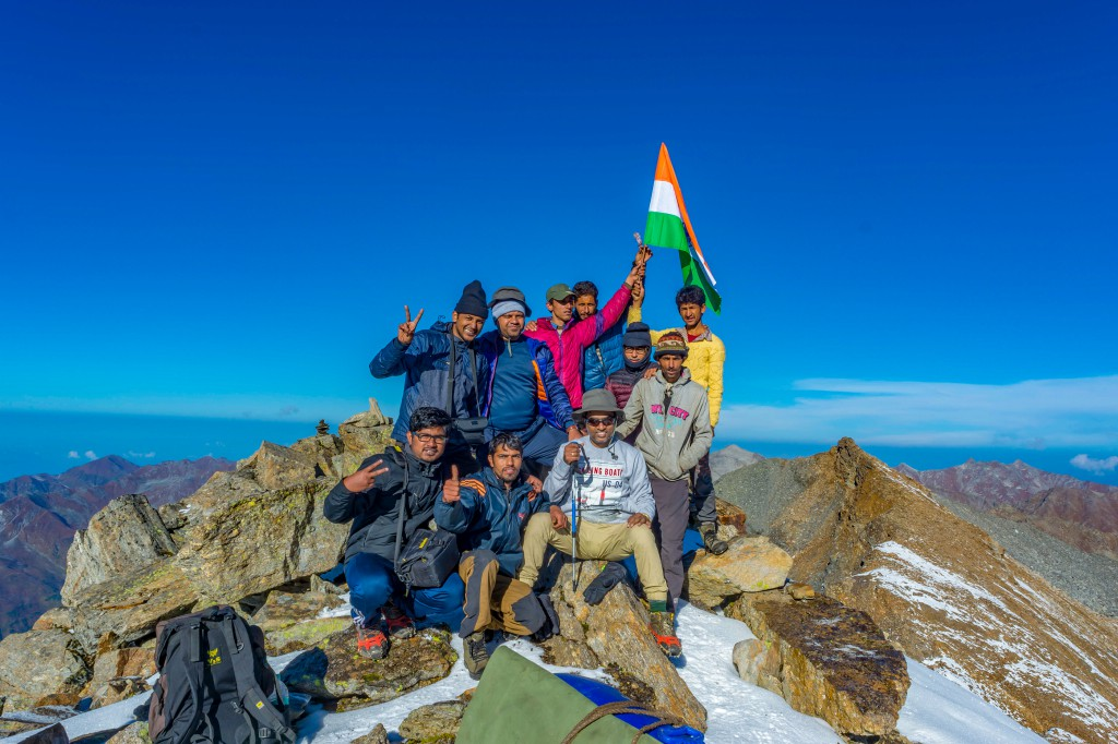 Group at Bali Pass - Bali Pass Trek