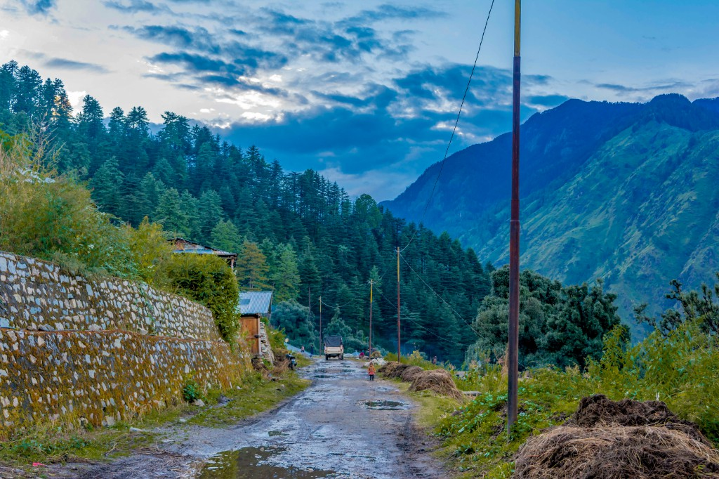 Roads of Sankri Village - Bali Pass Trek
