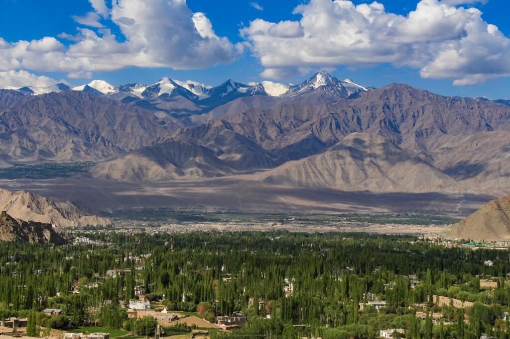 Leh town - Ladakh road trip
