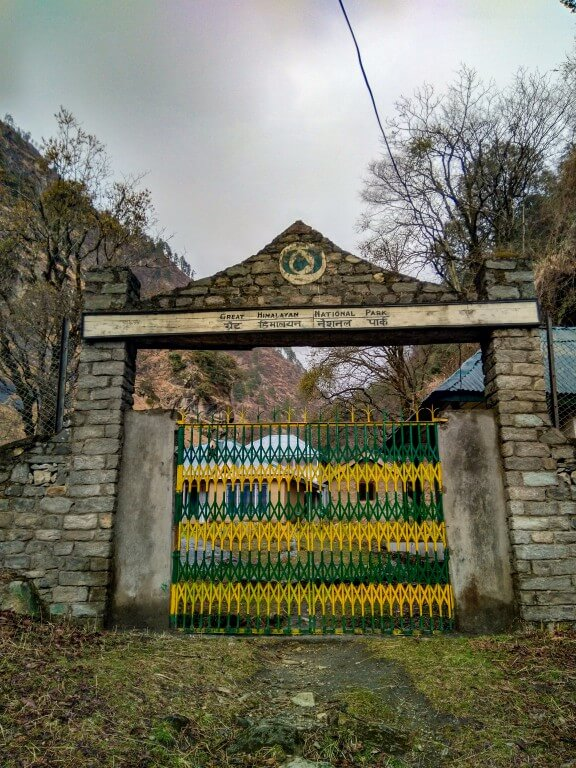 Rolla Entry Gate, Great Himalayan National Park