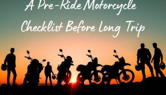 Pre-Ride Motorcyle Checklist Before Long Trip