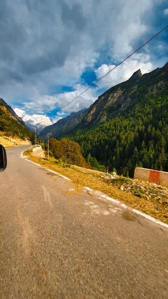 On the way to Gangotri from Dehradun - Gaumukh Tapovan Trek