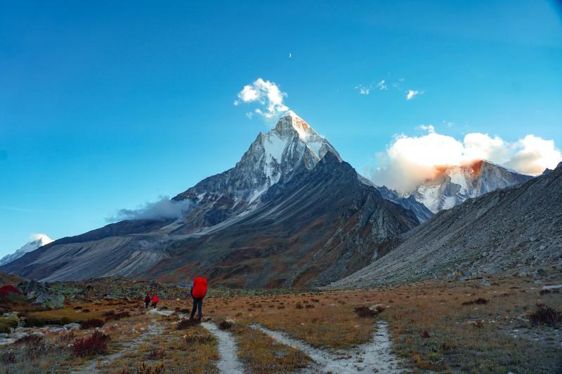 Mt. Shivling from Tapovan - Gaumukh Tapovan Trek