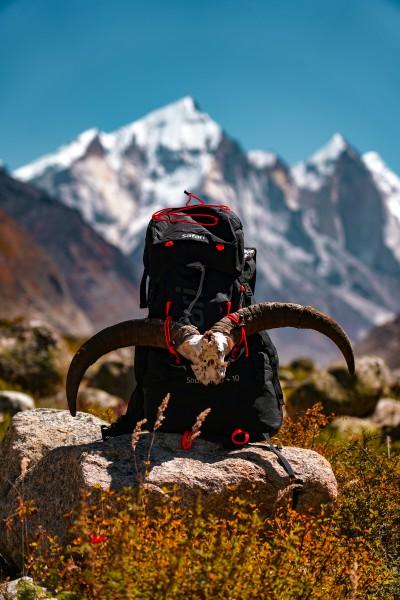 Bhagirathi Massif in the backdrop