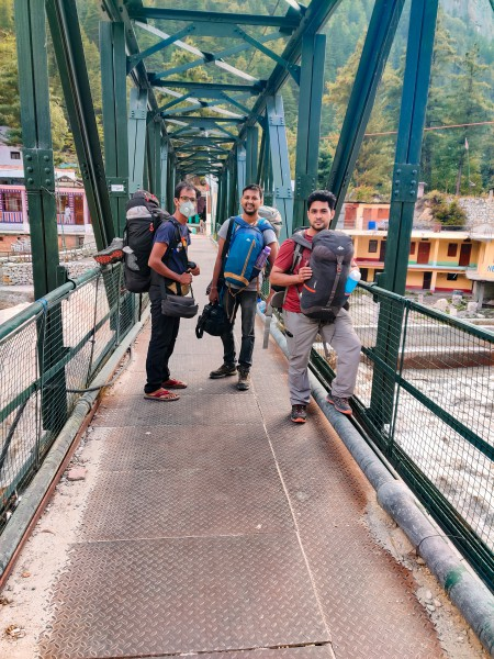 After reaching Gangotri - Gaumukh Tapovan Trek