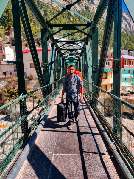 Begining the trek - Gaumukh Tapovan Trek