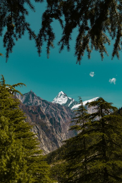 Sudarshan Parbat seen from the trail