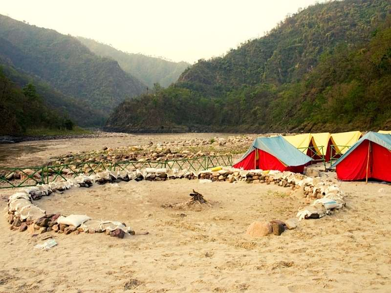 Camping in Rishikesh - Camping in India