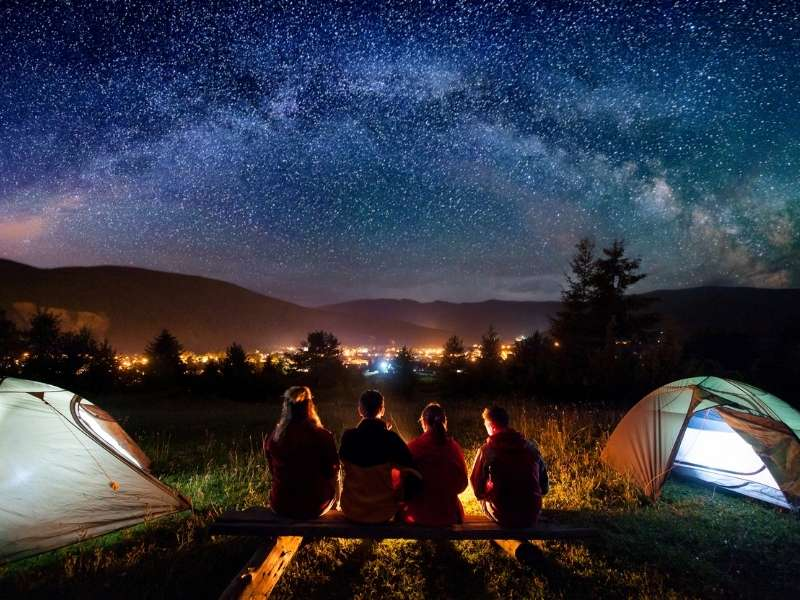Camping in Solang Valley - Camping in India