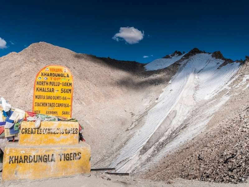 Khardung La Pass - Attractions in Ladakh